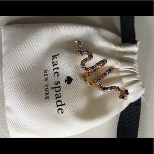 Kate Spade snake ring